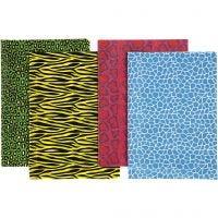 Papel de decoupage, 25x35 cm, 17 gr, 8 hojas stdas/ 1 paquete