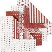 Papel Origami, medidas 10x10 cm, 80 gr, 50 hojas stdas/ 1 paquete