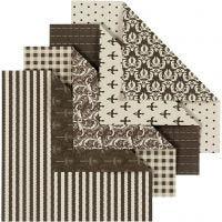 Papel Origami, 50 hojas stdas/ 1 paquete