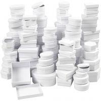 Cajas , dia: 5,5-16 cm, blanco, 168 stdas/ 1 caja
