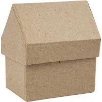 Casa, A: 10,5 cm, medidas 6x8,5 cm, 4 ud/ 1 paquete