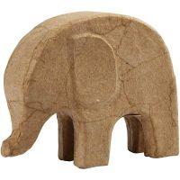 Elefante, A: 14 cm, L. 17 cm, 1 ud