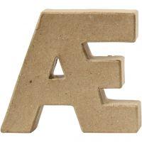 Letra, Æ, A: 10 cm, grosor 2 cm, 1 ud