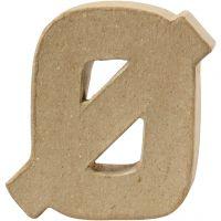 Letra, Ø, A: 10 cm, grosor 2 cm, 1 ud