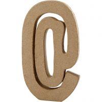 Signo, @, A: 19,9 cm, A: 11,5 cm, grosor 2,6 cm, 1 ud