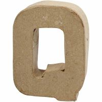 Letra, Q, A: 10 cm, A: 7,8 cm, grosor 1,7 cm, 1 ud
