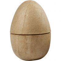 Huevo de pascua, A: 12 cm, dia: 9 cm, 1 ud