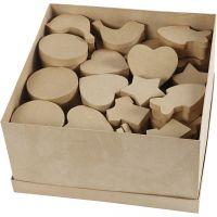 Cajas , medidas 6-11 cm, 63 ud/ 1 paquete
