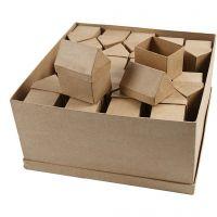 Casas, A: 10,5 cm, medidas 6x8,5 cm, 40 ud/ 1 paquete