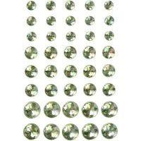 Joyas, medidas 6+8+10 mm, verde, 40 ud/ 1 paquete