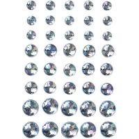 Joyas, medidas 6+8+10 mm, azul, 40 ud/ 1 paquete