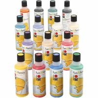 Color Fun&Fancy, El contenido puede variar , surtido de colores, 15x80 ml/ 1 paquete