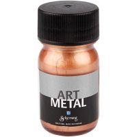 Pintura Art Metal, cobre, 30 ml/ 1 botella