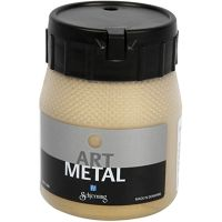 Pintura Art Metal, dorado claro, 250 ml/ 1 botella