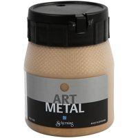Pintura Art Metal, dorado medio, 250 ml/ 1 botella