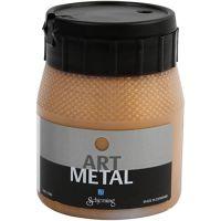 Pintura Art Metal, dorado oscuro, 250 ml/ 1 botella