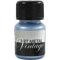 Pintura Art Metal, azul perlado, 30 ml/ 1 botella