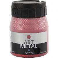 Pintura Art Metal, rojo lava, 250 ml/ 1 botella
