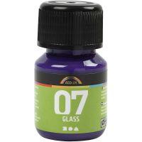 Pintura A-Color Glass, rojo / violeta, 30 ml/ 1 botella