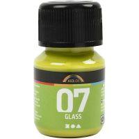 Pintura A-Color Glass, kiwi, 30 ml/ 1 botella