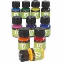 Pintura A-Color Glass, surtido de colores, 10x30 ml/ 1 paquete