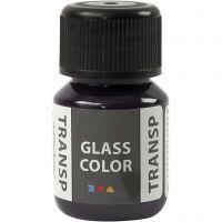 Pintura Glass Color Transparent, violeta, 30 ml/ 1 botella