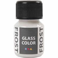 Glass Color Frost, blanco, 30 ml/ 1 botella