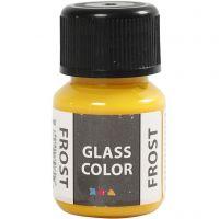 Glass Color Frost, amarillo, 30 ml/ 1 botella