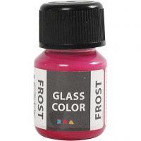 Glass Color Frost, rojo, 30 ml/ 1 botella