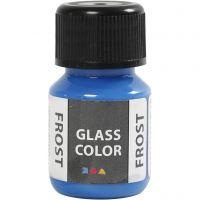 Glass Color Frost, azul, 30 ml/ 1 botella