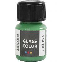 Glass Color Frost, verde, 30 ml/ 1 botella