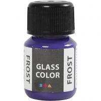 Glass Color Frost, violeta, 30 ml/ 1 botella