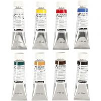 Color acrílico Schmincke AKADEMIE®, 8x60 ml/ 1 paquete