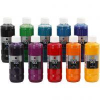 Textil Silk - Surtido, 10x250 ml/ 1 paquete