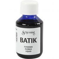 Tinte batik, azul brillante, 100 ml/ 1 botella