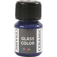 Pintura cristal y cerámica, azul lavanda, 35 ml/ 1 botella