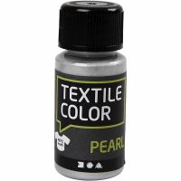 Textile Color, perlado, plata, 50 ml/ 1 botella