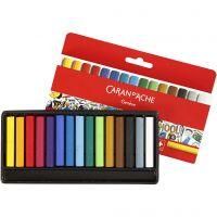 Neocolor I, L. 5 cm, grosor 8 mm, surtido de colores, 15 ud/ 1 paquete