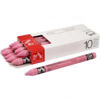 Neocolor I, L. 10 cm, grosor 8 mm, pink (081), 10 ud/ 1 paquete