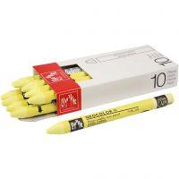 Neocolor II, L. 10 cm, lemon yellow (240), 10 ud/ 1 paquete