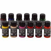 Textile Colour, 12x50 ml/ 1 paquete