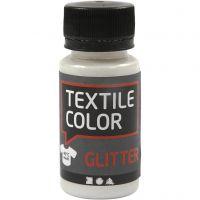 Textile Color, purpurina, transparente, 50 ml/ 1 botella