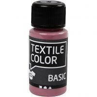 Textile Colour, rosado oscuro, 50 ml/ 1 botella