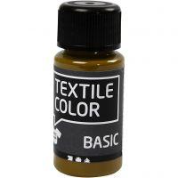 Textile Colour, oliva-marrón, 50 ml/ 1 botella