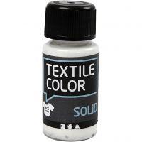 Textile Solid , opaco, blanco, 50 ml/ 1 botella