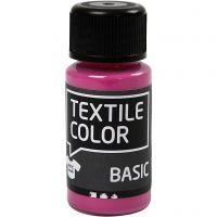 Textile Colour, rosa, 50 ml/ 1 botella