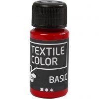 Textile Colour, rojo, 50 ml/ 1 botella