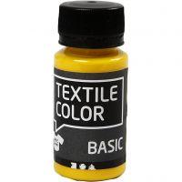 Textile Colour, amarillo primario, 50 ml/ 1 botella