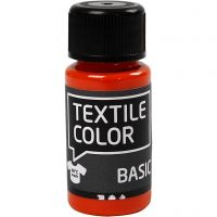 Textile Colour, naranja, 50 ml/ 1 botella