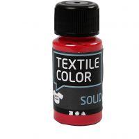 Textile Solid , opaco, rojo, 50 ml/ 1 botella